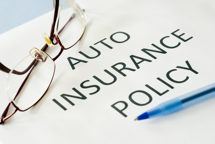 Car insurance policy paperwork